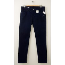 NEW Gap 1969 Always Skinny Velvet Pants in Dark Indigo