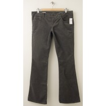 NEW Gap 1969 Skinny Boot Corduroy Pants in Shark Fin