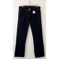 NEW Gap 1969 Straight Fit Five-Pocket Cords in Black Men's 34 x 30
