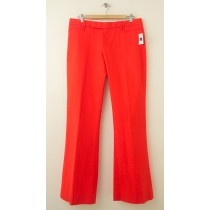 NEW Gap Modern Boot Pants in Festive Orange