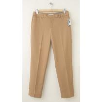 NEW Gap Slim Cropped Pants in Natural Camel