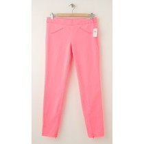 NEW Gap Super Skinny Twill Pants in Neon Coral