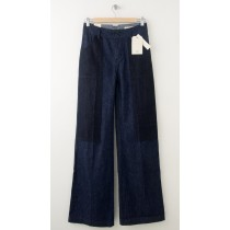 NEW Levi's Double Button Wide Leg Jeans in Premium Fabric