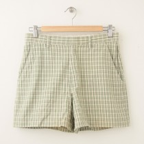 J. Crew Plaid Walking Shorts Women's 4