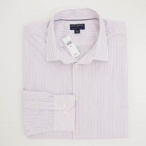 Banana Republic Striped Non-Iron Slim Fit Dress Shirt