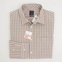 Gap Lived-In Wash Mini Vintage Twist Tattersall Shirt