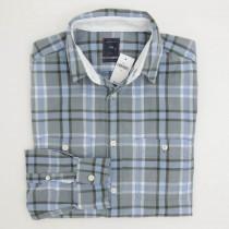 Gap Plaid Flannel Shirt in River Blue Men's Medium