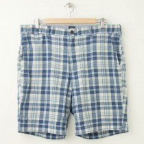 J. Crew Madras Stanton Shorts Men's 36