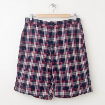 Chaps Plaid Madras Shorts Men's 32