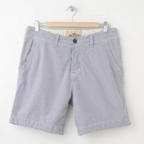 Hollister Striped Chino Shorts Men's 30