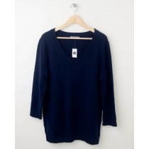 NEW Gap Solid Pullover Sweater in True Indigo Women's Large