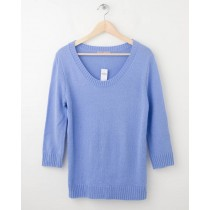NEW Gap Solid Pullover Sweater in Marina Blue Women's Small