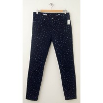 NEW Gap 1969 Blue Dot Legging Skimmer Jeans in Indigo