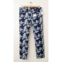NEW Gap 1969 Always Skinny Skimmer Jeans in Blue Floral