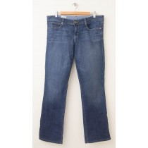 Gap 1969 Real Straight Jeans Women's 32/14 (hemmed)