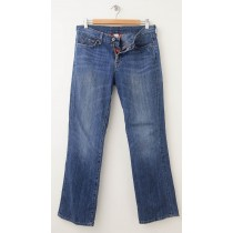 Lucky Brand Classic Rider Jeans Women's 6/28 Short