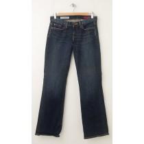 Express X2 W31 Curvy Regular Rise Boot Cut Jeans Women's 2S - Short