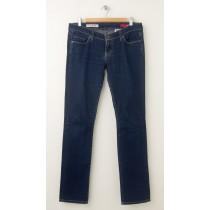 Express X2 W01 Ultra Low Rise Skinny Leg Jeans Women's 8L - Long