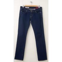 Express X2 Skinny W01 Ultra Low Rise Skinny Leg Jeans Women's 6R