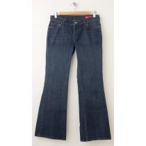 Express X2 W10 Flare Leg Jeans Women's 6S - Short