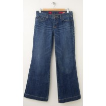 Express X2 W31 Eva Full Leg Jeans Women's 6S - Short
