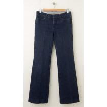 Banana Republic Classic Trouser Leg Jeans Women's 6 (hemmed)