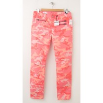 "NEW Gap 1969 Front-Zip Always Skinny 29"" Ankle Jeans in Pink Camo"