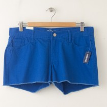 "NEW Old Navy The Diva Cut-Off Denim Shorts 3.5"" in Blue Eye"