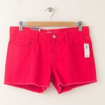 "NEW Old Navy The Diva Cut-Off Denim Shorts 3.5"" in Apple of My Eye"