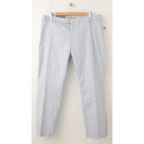 NEW Gap Slim Cropped Print Pants in Geometric Blue