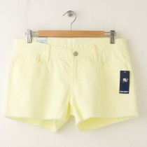 "NEW Old Navy The Diva Cut-Off Denim Shorts 3.5"" in Neon Alarm Clock"