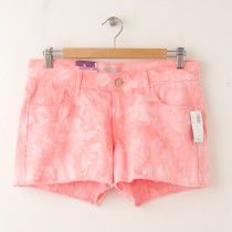 "NEW Old Navy The Diva Cut-Off Denim Shorts 3.5"" in Warm Tie Dye"