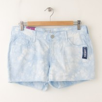 "NEW Old Navy The Diva Cut-Off Denim Shorts 3.5"" in Cool Tie Dye"