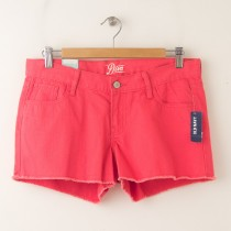 "NEW Old Navy The Diva Cut-Off Denim Shorts 3.5"" in Watermelon"