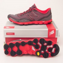 New Balance Men's Minimus Amp Trail Running Shoe MT1010SA in Grey Red