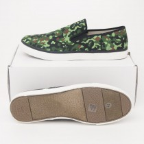 Gap Men's Pop Color Canvas Slip On Sneakers in Camouflage
