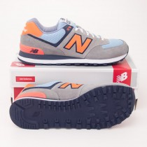 New Balance Men's Yacht Club 574 Classics Running Shoes ML574YCM Grey