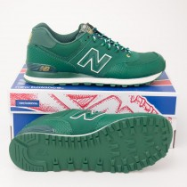 New Balance Men's Year of the Snake 574 Classics Shoes ML574SDG Green