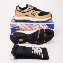 New Balance Men's 2001 Classics Running Shoe M2001CB in Copper/Blac