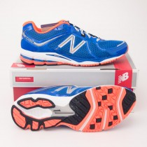 New Balance 880v2 Running Shoe M880BO2 in Blue with Orange