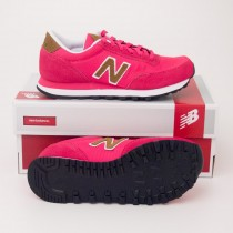 New Balance Women's Backpack 501 Classics Running Shoes Pink WL501BPP