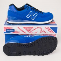 New Balance Men's High Roller 574 Classics Running Shoes ML574SPB Blue