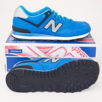 New Balance Men's Windbreaker 574 Classics Running Shoes ML574WBB Blue