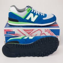 New Balance Men's Yacht Club 574 Classics Running Shoes ML574YCB Teal