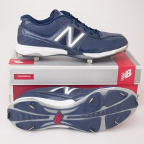 New Balance 4040 Low Cut Baseball Cleats MB4040AB Navy with White
