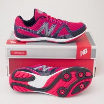New Balance Women's 700 Cross Country Running Spike in Pink W700XCS