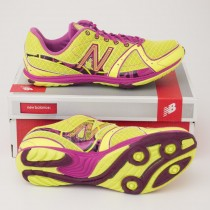New Balance Women's 700 Cross Country Running Shoe in Yellow W700XGR