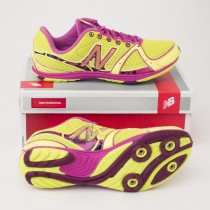 New Balance Women's 700 Cross Country Running Spike in Yellow W700XGS