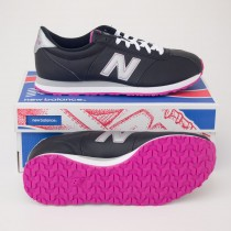 New Balance Women's 446 Classics Running Shoes in Black WL446BV