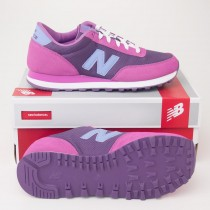 New Balance Womens Heritage 501 Classic Running Shoes Purple WL501IPP
